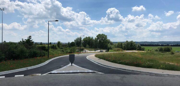 Ouverture de la voie de contournement sud du stade du SIBANO