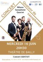 Concert quatuor de saxophones