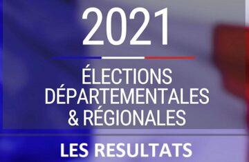 Résultats des élections départementales et régionales – Premier tour