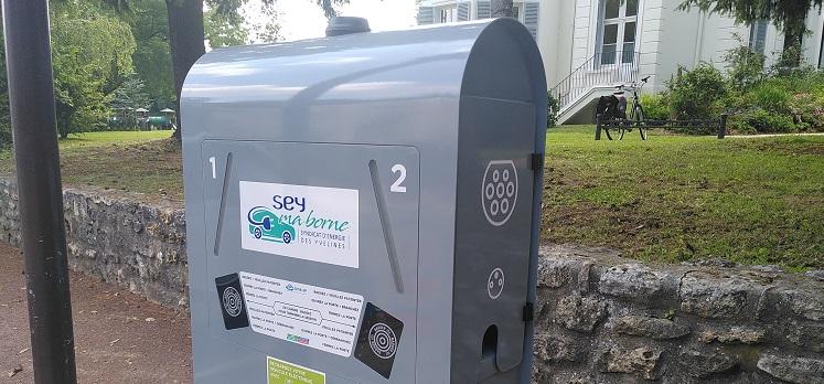 Nouvelle borne de recharge pour véhicules électriques